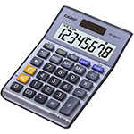 Calculatrices de bureau avec fonction conversion EURO | MS-88TERII
