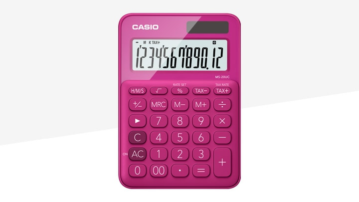 Colorful Calculators
