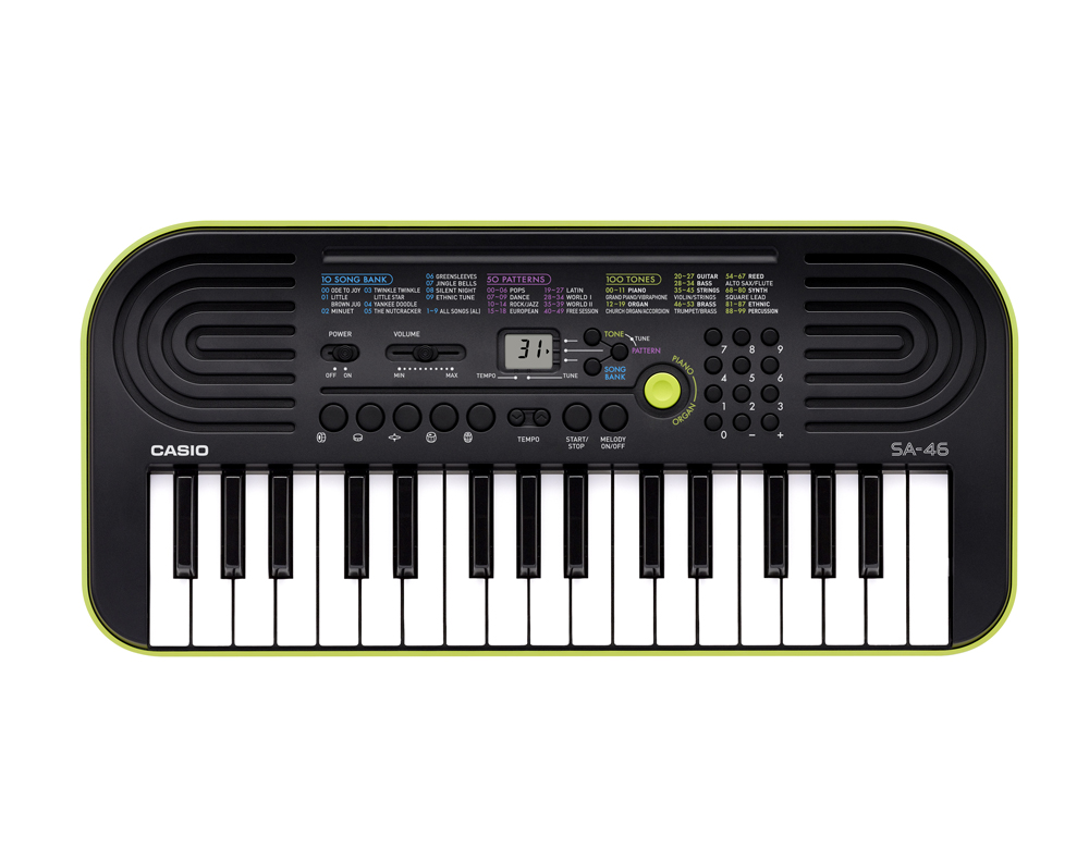 SA-46 | Mini Keyboards | Musical Instruments | Products | CASIO