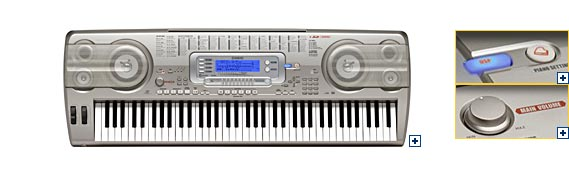 how to connect casio wk 110 to computer