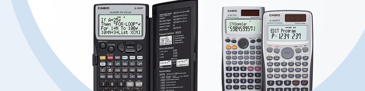 Calculadora programable   Calculadora escolar y gráfica   Productos ...