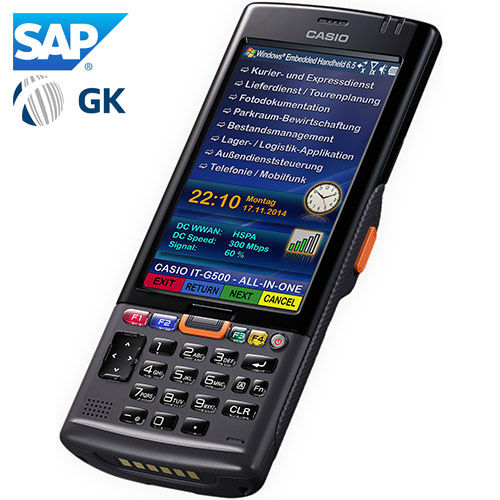 It G500 Mobile Industrial Solutions Products Casio