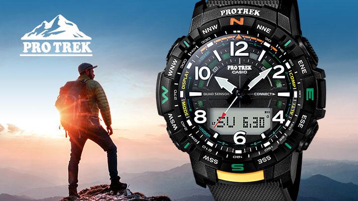 PRO TREK relojes para actividades al aire libre con termómetro, barómetro y altímetro by NipponArgentina