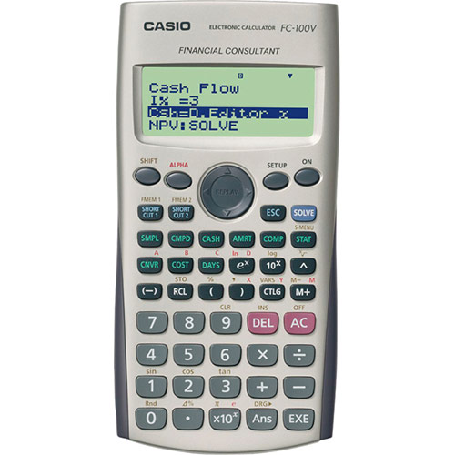 Fc-100V | Financial Calculator | School And Graphic Calculators