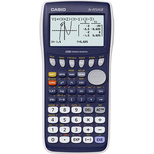 FX-9750GII | Calculadora gráfica | Calculadora escolar y gráfica ...