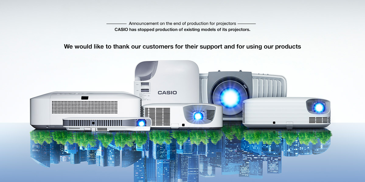Projectors | Products | CASIO