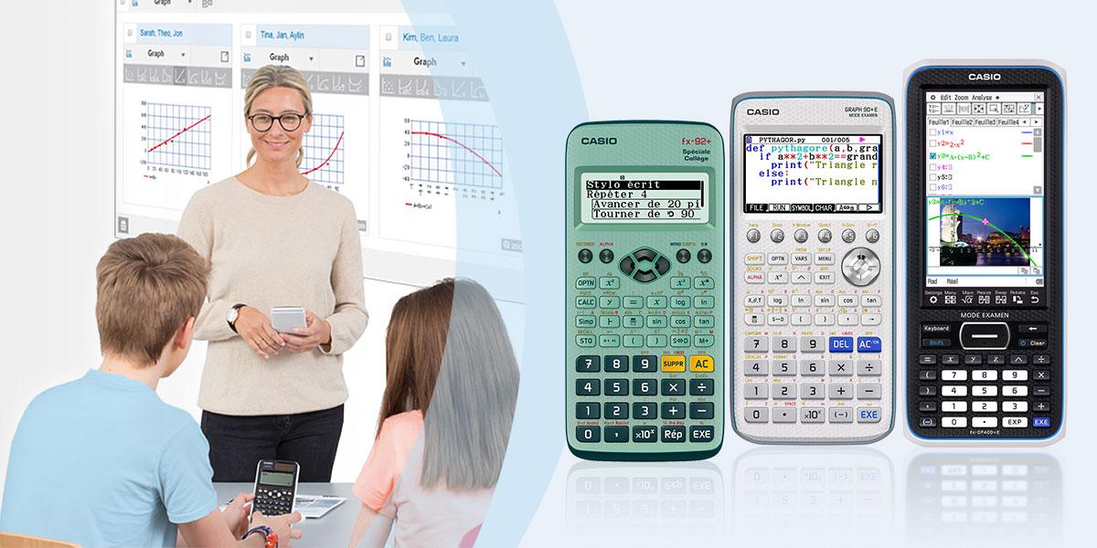 Calculatrices scientifiques et graphiques | Produits | CASIO  zRHfI