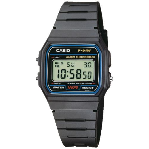 CASIO Collection Men | F-91W-1YEG