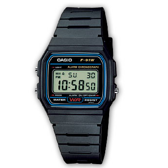 CASIO Collection | F-91W-1YER