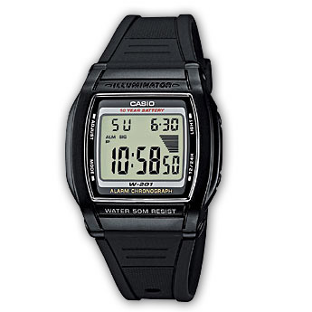 CASIO Collection Men | W-201-1AVEF