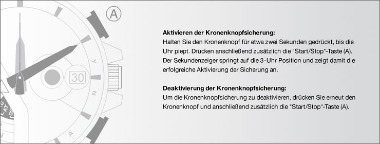 Smart Access / Kronenknopfsicherung