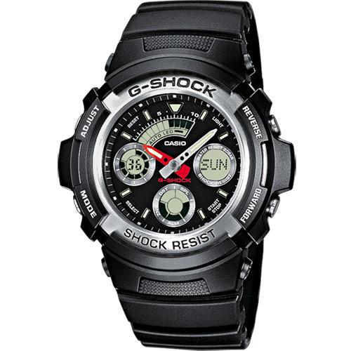 manual casio g shock aw 590