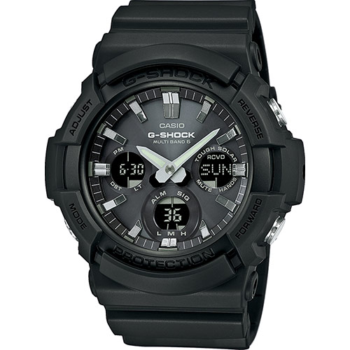 How to set time on casio g-shock ga-100.