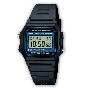 CASIO Collection Men | F-105W-1AWYEF