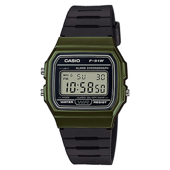 CASIO Collection Retro | F-91WM-3AEF
