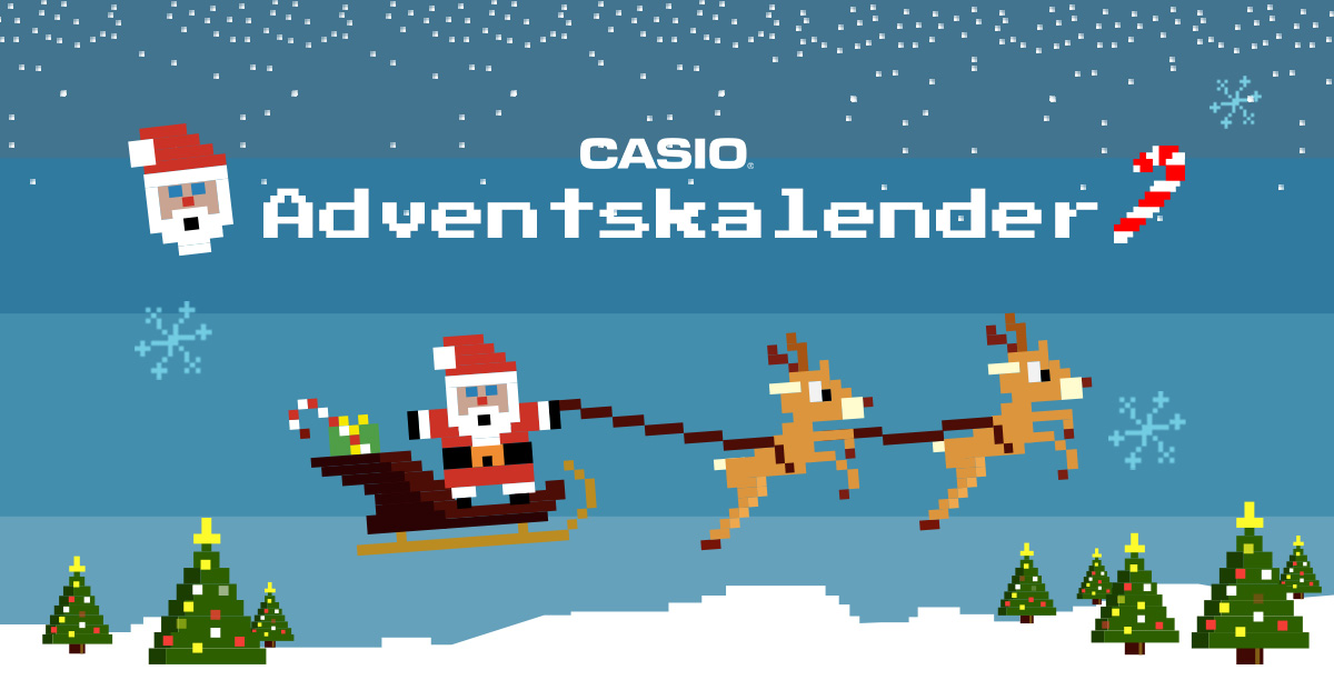 Casio Adventskalender